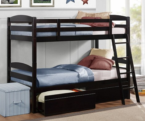 Exuberance Bunkbed with Storage