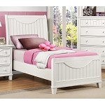 2136W Alissa Youth Bed in White