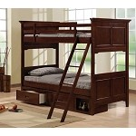 Jordan Bunk Bed in Cherry