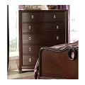 Lund Chest of Drawers Rich Cherry