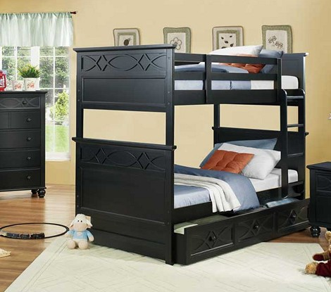 Sanibel Bunk Bed Black
