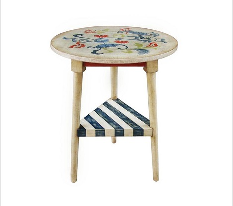 DS-517169 Accent Table in Multi-Painted Finish