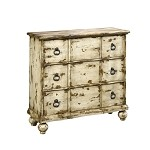DS-549100 Accent Chest in Distressed White Finish