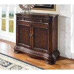 DS-704210 Accents Hall Chest in Dark Cherry Finish