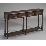 DS-974118 Console Table in Multi-Painted Finish