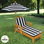 Outdoor Chaise w/ Umbrella