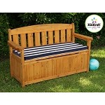 Outdoor Storage Bench w/ Cushion