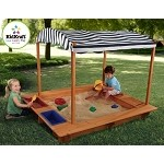 Outdoor Sandbox w/ Canopy