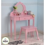 Medium Diva Table & Stool in Pink