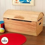 Round Top Storage Chest - Natural
