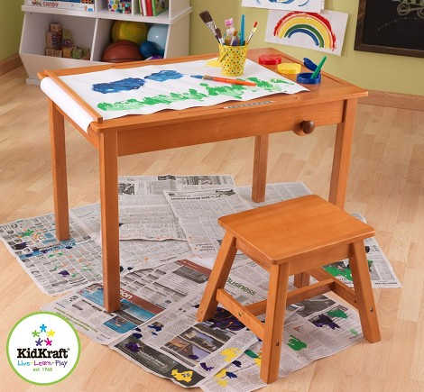 Art Table with Stool