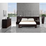 Lyon Wenge Platform Bedroom Set