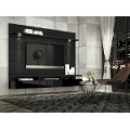Manhattan Comfort Cabrini Theater Entertainment Center Panel 2.2 in Black
