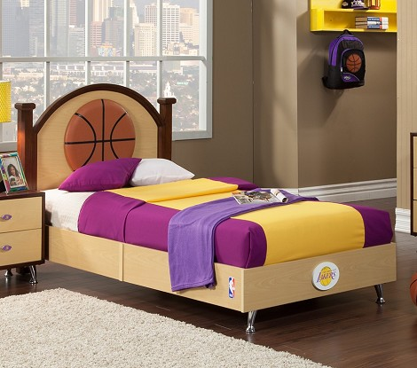 NBA Basketball Los Angeles Lakers Twin Bed