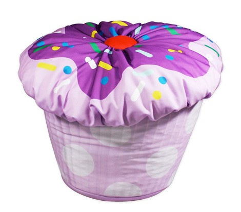 Cupcake Bean Bag Lavender