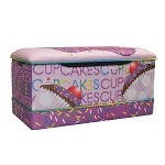 Cup Cake Collection Lavender Toy Box
