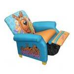 Scooby Doo Paws Kids Recliner