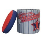 Baseball All Star Storage Ottoman