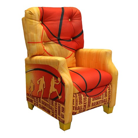 Basketball Slam Dunk Kids Recliner
