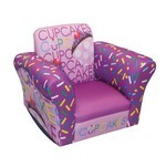 Cup Cake Collection Lavender Small Standard Rocker