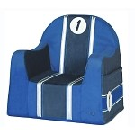 Playful Embroidery Little Reader - 1 Race Blue