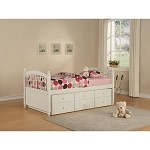 May Twin Bed W/ Trundle
