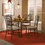 468-471M1 Cafe 5 Piece Jefferson Dining Set