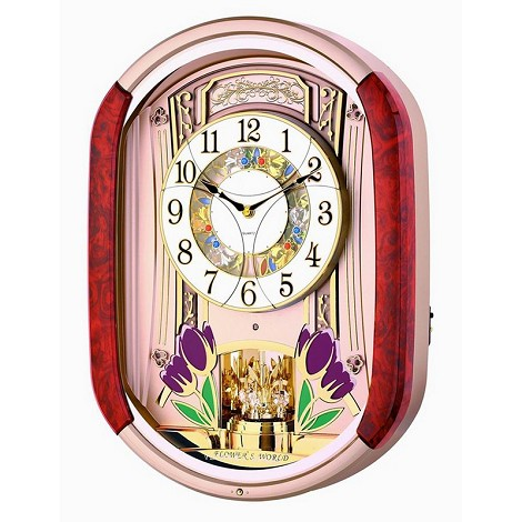 Tulip Melodies In Motion Wall Clock