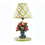 Teamson Kids Girls Table Lamp - Bouquet