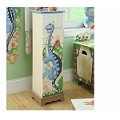 Teamson Kids Boys 5 Drawer Cabiet - Dinosaur Kingdom