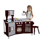 Teamson Kids My Little Chef Deluxe Faux - Granite Play Kitchen