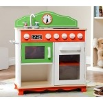 Teamson Kids My Little Chef Play Kitchen with Electric Stove Top