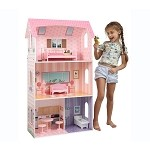Teamson Kids- Modern Doll House with furniture