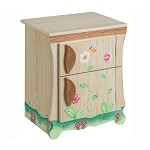 Teamson Kids Enchanted Forest Kitchen Refrigerator