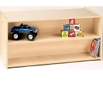 Toddler Double-Sided Shelf Storage (RTA)