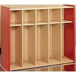 5-Cubbie Toddler Locker