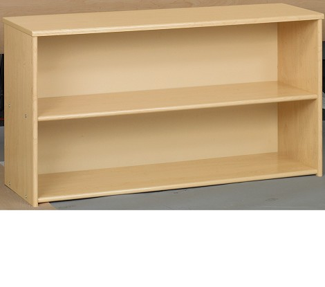 Toddler Open Shelf Storage