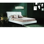 392 - Transitional Eco-Leather Bed