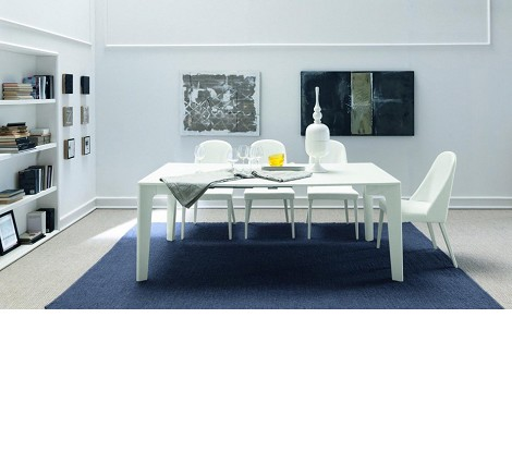 Armonia - Modern GlossyExtendable Dining Table