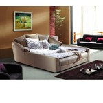B801 - Modern Eco-Leather Bed