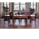San Marco Dark Walnut Extendable Dining Table 94