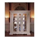 San Marco White Dining Display Cabinet