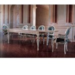 San Marco White Extendable Dining Table from Bakokko 118
