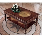 San Marco Dark Walnut Coffee Table