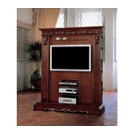 San Marco Dark Walnut TV Entertainment Center