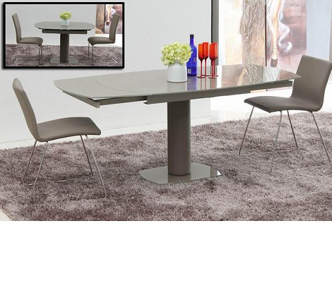 Flavor - Modern Extendable Dining Table