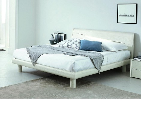 Genesis - Made in Italy Contemporary Bed with Light