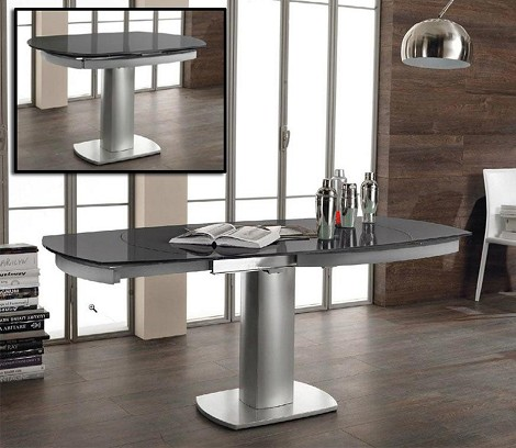 Indulge - Modern Compact Extendable Dining Table