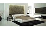 J214 - Contemporary Eco-Leather Bed
