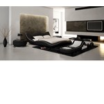 J215B - Contemporary Eco-Leather Bed